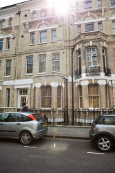 Our flat in South Kensington, London